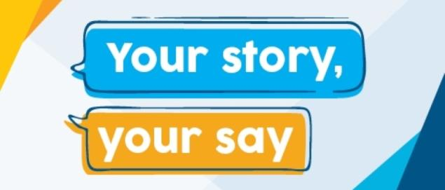 vla your story your say